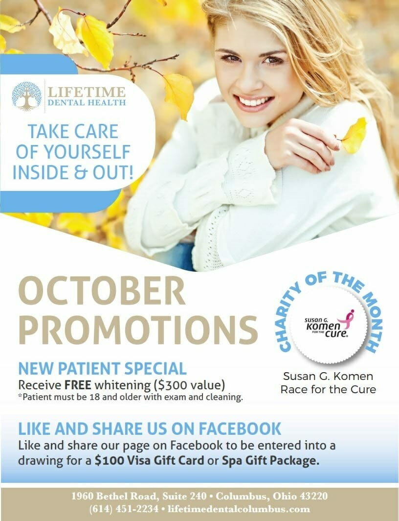 October Promotions Graphics